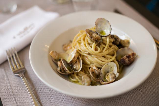 Spaghetti Vongole e Bottarga di Carloforte