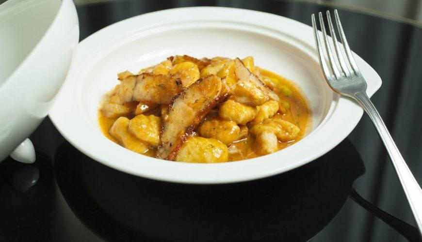 Il piatto servito al ristorante I Vitelloni