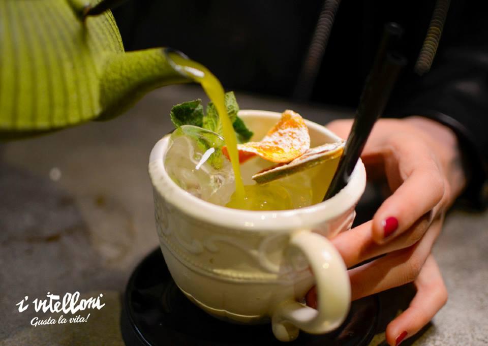 Cocktail Japanese tea