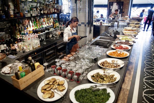 Bar aperitivo a Roma